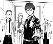 Kureto kicking the squad out