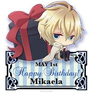 Chibi Mika - Happy Birthday
