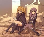 Mitsunoa anime artbook