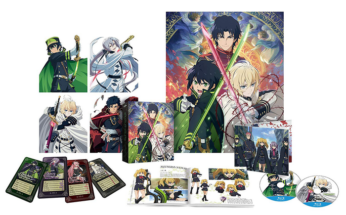 DVD Seraph of the End Season 1 Part 1 Contents