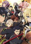 Seraph of the End - Battle in Nagoya Key Visual
