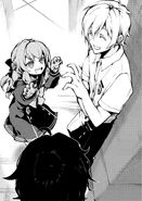LN Shinoa shows off her interrogation makeup to Shinya
