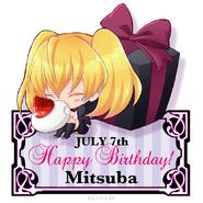 Chibi Mitsuba - Happy Birthday
