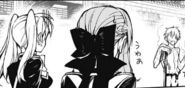 Ferid scaring the girls