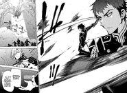 Kureto and Guren Attacks Sanguinem