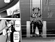 Lest watches Krul beaten up and tied to her throne