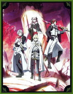 Funimation Collector's Edition cover panel with vampires