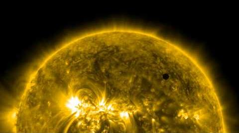 NASA SDO's Ultra-high Definition View of 2012 Venus Transit
