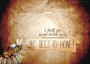 Honey and the bee