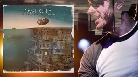 Owl City - Shooting Star Acoustic (The Midsummer Station EP 2013) Lyrics