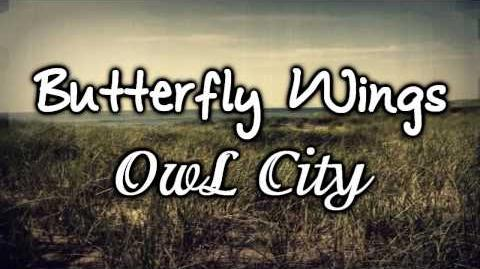 Butterfly Wings - Owl City (Lyrics) NEW 2010