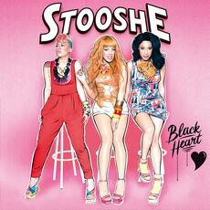Stooshe black heart