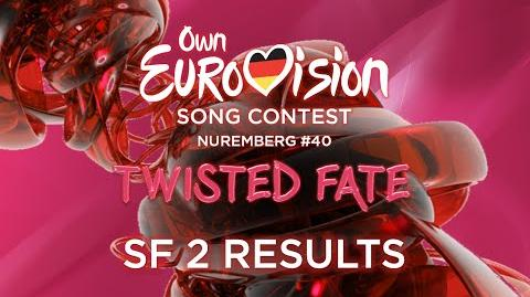 Own Eurovision Song Contest 40 Semi-final 2 Results