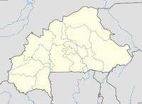 Burkina Faso location map