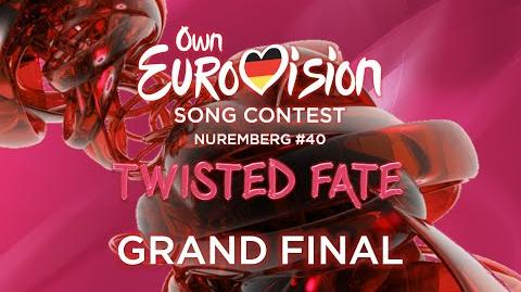 Own Eurovision Song Contest 40 Grand Final Nuremberg, Germany