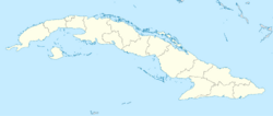 Cuba location map