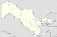 Uzbekistan adm location map