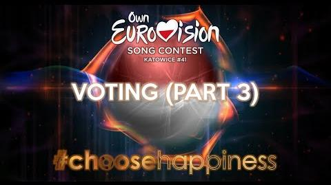 Own Eurovision Song Contest 41, Voting (Part 3 3)