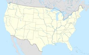 USA location map