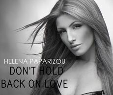 Don't hold back on love