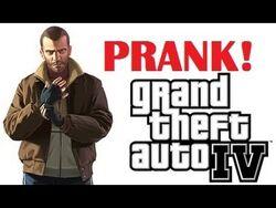 Grand Theft Auto IV Xbox Live Prank (ft. Buk Lau)