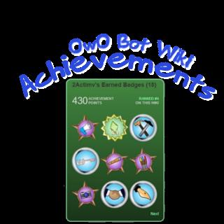 Owo Bot Wiki Achievements Owo Bot Wiki Fandom