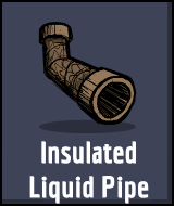 Oxygen Not Included - Insulated Liquid Pipe
