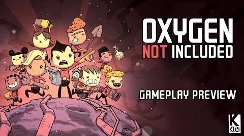 Oxygen Not Included Gameplay Preview