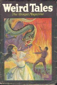 Weird Tales July 1926