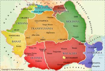 România-map