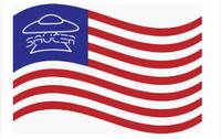 Usa ufo flag
