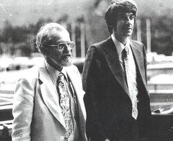 Allen Hynek Jacques Vallee 1