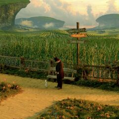 Yellow Brick Road in <i>Oz the Great &amp; Powerful</i>.