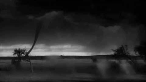 Wizard of Oz - Original Test Footage - Twister Tornado in Distance