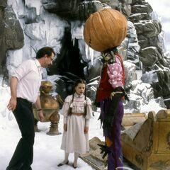 Walter Murch with Fairuza and Jack.