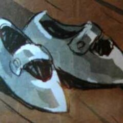 The Silver Shoes in the Marvel Comic version of <i>The Wonderful Wizard of Oz</i> by Skottie Young