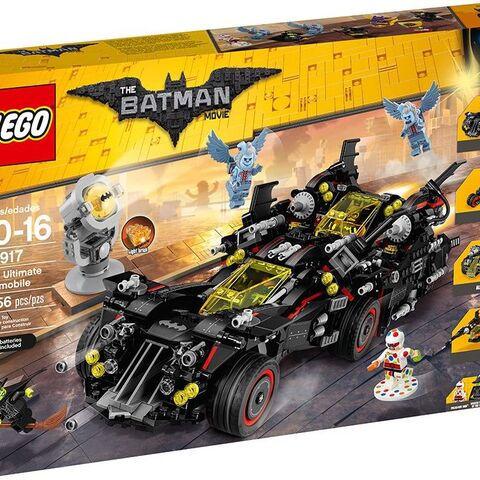The Ultimate Batmobile box