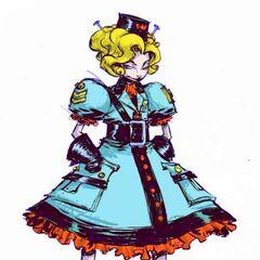 Jinjur in the Marvel Comic Oz series by Skottie Young