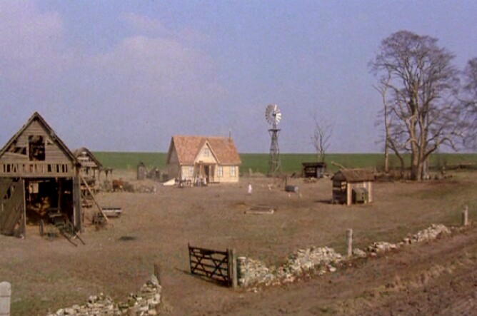 Kansas Farm In Return To Oz 1985