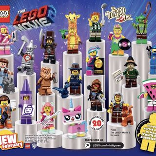 Ad for <i>The LEGO Movie 2/The Wizard of Oz</i> Collectible Minifigures