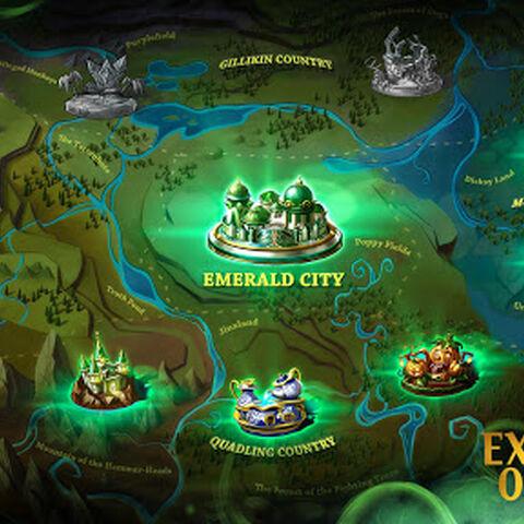 Gameplay Map