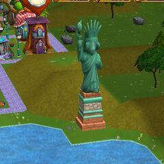 The Munchkin Liberty Statue.