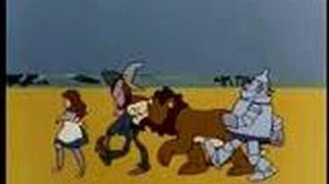 The original Wizard of Oz japanese anime intro