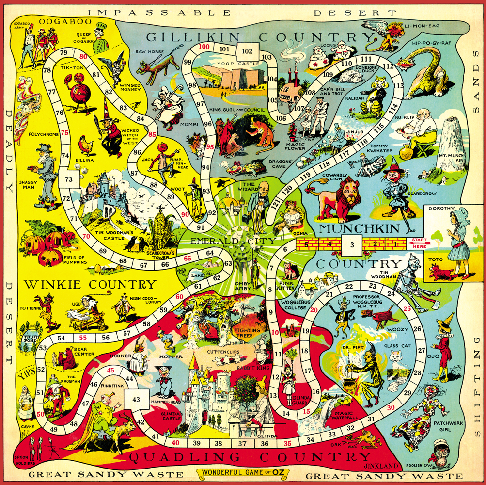 Image map 1921 oz gameboardg oz wiki fandom powered by wikia map 1921 oz gameboardg gumiabroncs Images