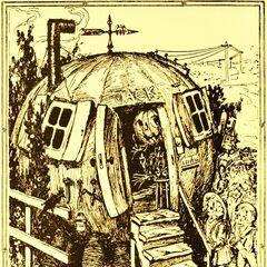 The home of Jack Pumpkinhead.