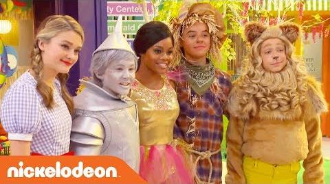 BTS w Lizzy Greene, Tia Mowry & More on the Wizard of Quads Set! NRDD Nick