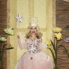 Night Life Celebrity Amanda Lepore as Glinda.