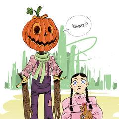 Jack and Dorothy fan art.