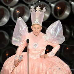 Ellen degeneres as Glinda 2014.