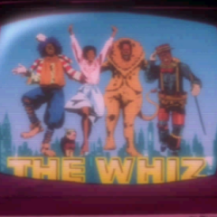 The Wiz film playing on TV